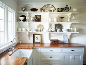 Kitchen-Countertop-with-White-Cabinets